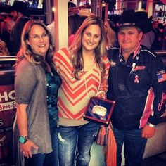 Women of the PBR - Sadie Berger talks about the major impact that her father, Chad Berger, has had on her life