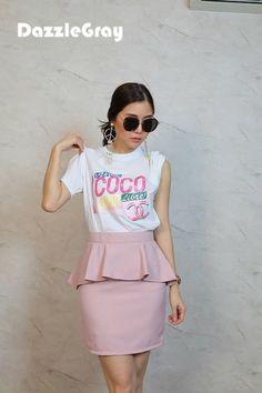 Ruffle Skirt [Dz1085]
