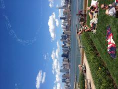 Roof top pool Hoboken