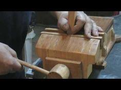 Fabrication d'un étau en bois …. Making a wooden vise …. Kastepat