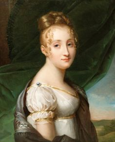 possibly Mme Blanche de Buffault, by a follower of Baron Francois Gerard, early 19th century