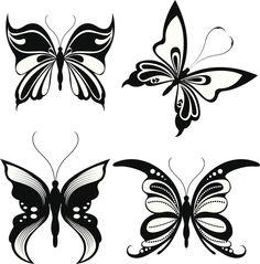 Dibujos de mariposas para tatuajes