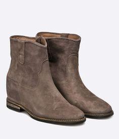 Botine Dama Cu Platforma Ascunsa Clarks Piele Maro Cowboy Boots, Wedges, Shoes, Fashion, Moda, Zapatos, Shoes Outlet, Fashion Styles, Shoe