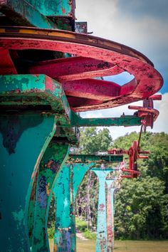 Skyliner Remains, Rocky Point Photograph, Amusement Park Photograph, Warwick Photography, Rhode Island Icon, 8x10 Art Print by WarwickSky on Etsy