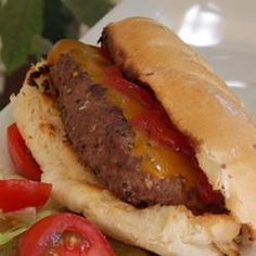 All-American Burger Dog Allrecipes.com
