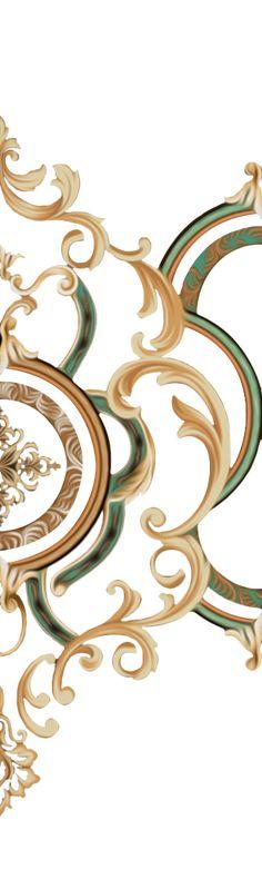 Baroque Pattern, Pattern Art, Botanical Drawings, Botanical Art, Textile Prints, Textile Design, Textiles, Egypt Jewelry, Flower Art Images