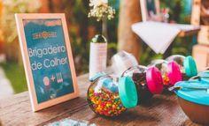 Bar de Brigadeiros para Festa Infantil - Inesquecível Festa Infantil