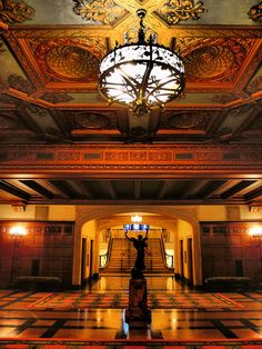 Scottish Rite Cathedral Main Hall by Historic Architecture of.