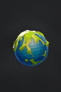 Geometric Planets by Jeremiah Shaw & Danny Jones