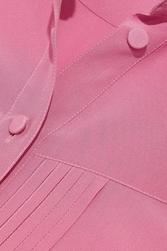 Gucci - Silk Crepe De Chine Shirt - Pink - IT46
