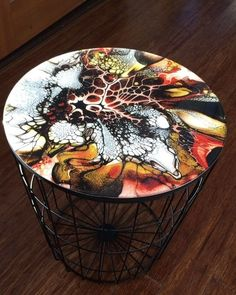 Like times, 420 comments - Shelee Carruthers Artist (Shelee Carruther . - Ausstellung ☀️ - The Dallas Media Acrylic Pouring Art, Acrylic Art, Acrylic Resin, Resin Furniture, Acrylic Painting Techniques, Diy Resin Crafts, Resin Table, Pour Painting, Painting Art