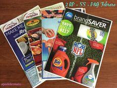 Libros de cupones en el periódico del Domingo (video) #Cupones #coupons #saving