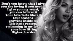 Beyoncé - Rocket (Lyrics On Screen) CDQ