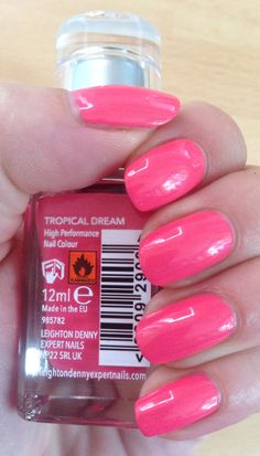 Leighton Denny nail polish, tropical dream