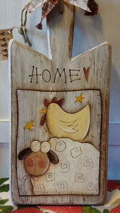 Unique API key is not valid for this user. Primitive Painting, Primitive Folk Art, Primitive Crafts, Country Primitive, Painting On Wood, Primitive Christmas, Tole Decorative Paintings, Tole Painting Patterns, Chicken Crafts