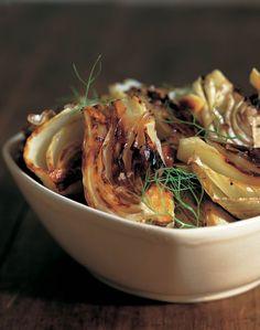 Recette de Fenouil confit au four Fennel Recipes, Vegetable Recipes, Vegetarian Recipes, Healthy Recipes, Confit Recipes, Tapas, Curry, International Recipes, Creative Food