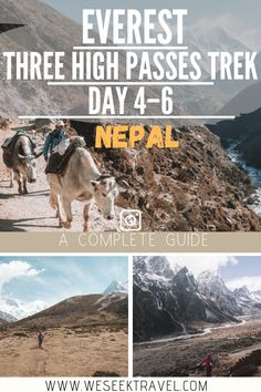 A guide for the first week in the Khumbu Himalayas on the Everest Three High Passes Trek and visiting Ama Dablam Base camp. Travel Nepal, Asia Travel, Travel Tips, Camp Trails, Nepal Culture, Everest Base Camp Trek, Nepal Trekking, Hiking Photography, Group Travel