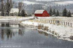 Winter Stillness by James Neeley, via Flickr
