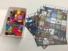 Book Cover Bingo Teen Library Program