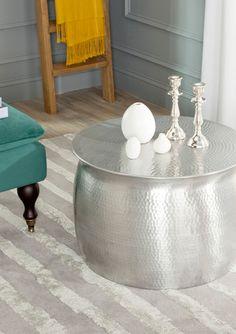 On ideel: SAFAVIEH Aztec Metal Table Stool