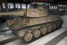 WoT 9.13 TVP VTU Koncept tier VIII Czechoslovakia medium tank