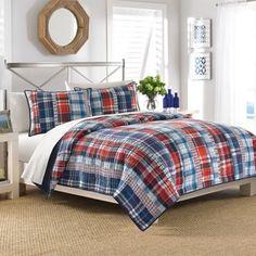 Nautica® Tasman Quilt - BedBathandBeyond.com  King bed $149.99