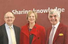 Derbyshire & Nottinghamshire Chamber of Commerce... Meet the MP - March 2011 - Phil Stanyer (PAS Consulting), Lilian Greenwood (MP), Steve Upcraft (UNIEI).