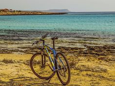 #adventure #beach #bicycle #bike #cyprus #horizon #landscape #leisure #recreation #sea #sport
