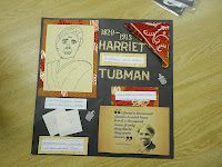 Book Reports  Scraps of History- each student gets one person and one scrapbook page to decorate front/back. Then bind them up to make a scrapbook.