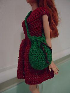 Ravelry: Barbie Bikini Drawstring Bag pattern by Dez Alyxander