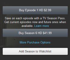Amazon.com Help: About TV Season Pass
