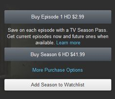 Amazon.com Help: About TV Season Pass