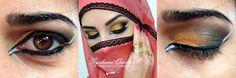 Olho Árabe (maquiagem artística, pode usável)
