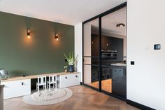 Inspiratie - GewoonGers Open Trap, House Extensions, Oversized Mirror, Table, Furniture, Home Decor, Utrecht, Amsterdam, Ideas