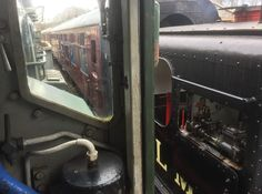 Sentinel and Class 08 swap trains at the Somerset and Dorset Railway Event