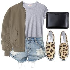 """Bomber Jacket"" by feathersandroses on Polyvore"