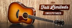 The Fall Limited Sweepstakes | Taylor Guitars