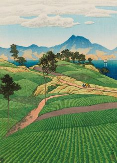 "Hasui Kawase (川瀬 巴水 Kawase Hasui, May 18, 1883 – November 7, 1957) was a Japanese artist. He was one of the most prominent print designers of the shin-hanga (""new prints"") movement."