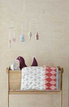 the lil crib Ferm Living Story Mobile - fawn Baby Bedroom, Nursery Room, Kids Bedroom, Nursery Decor, Nursery Ideas, Baby Rooms, Bedroom Ideas, Baby Decor, Kids Decor
