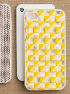 15 Cool iPhone Cases That Double As Statement Pieces: Not Your Grandma Needlepoint $27.30, PurlSoho.com