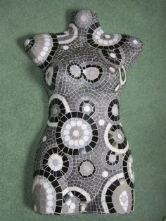 Mosaic torso for 'Evoke' of Harrogate
