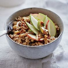 Hearty Oats and Grains | CookingLight.com #myplate #wholegrain #fruit #dairy