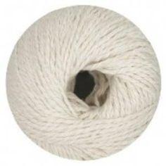 Wool & More - Linie 409 Cotton Silk 0001 - OnLine Garne Zusammensetzung: 78% Baumwolle, 22% Seide Lauflänge: 50g = 80m