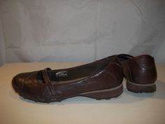 Skechers Women's Mary Janes Style Shoes Brown Size 7.5 #Skechers #MaryJanes