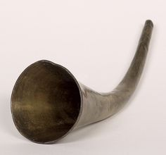 """Many people know Beethoven had trouble hearing, but not everyone knows he tried using several different devices to improve his hearing, including this """"ear trumpet."""""""