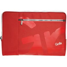 "GOLLA G1474 16"""" Otto Slim Sleeve (Red)"