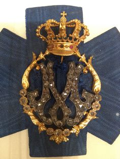 Badge for a Lady-in-Waiting to Queen Margarita of Italy