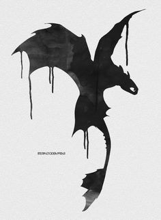 How To Train Your Dragon Tattoo Toothless Hiccup 35 New Ideas - Happy Tiere Httyd, Hiccup And Toothless, How To Train Dragon, How To Train Your, Dragon Rider, Dragon Art, Disney And Dreamworks, Dreamworks Dragons, Fantasy Art