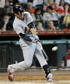 Allen Craig hit a 2 run home run, so glad to see him back in the lineup  5-06-12