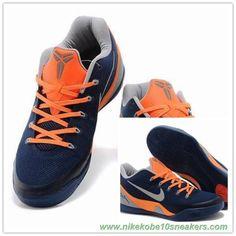 Nike Kobe 9 EM 74194-004 Blue orange